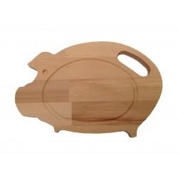 """Planche hêtre """"Cochon"""""""